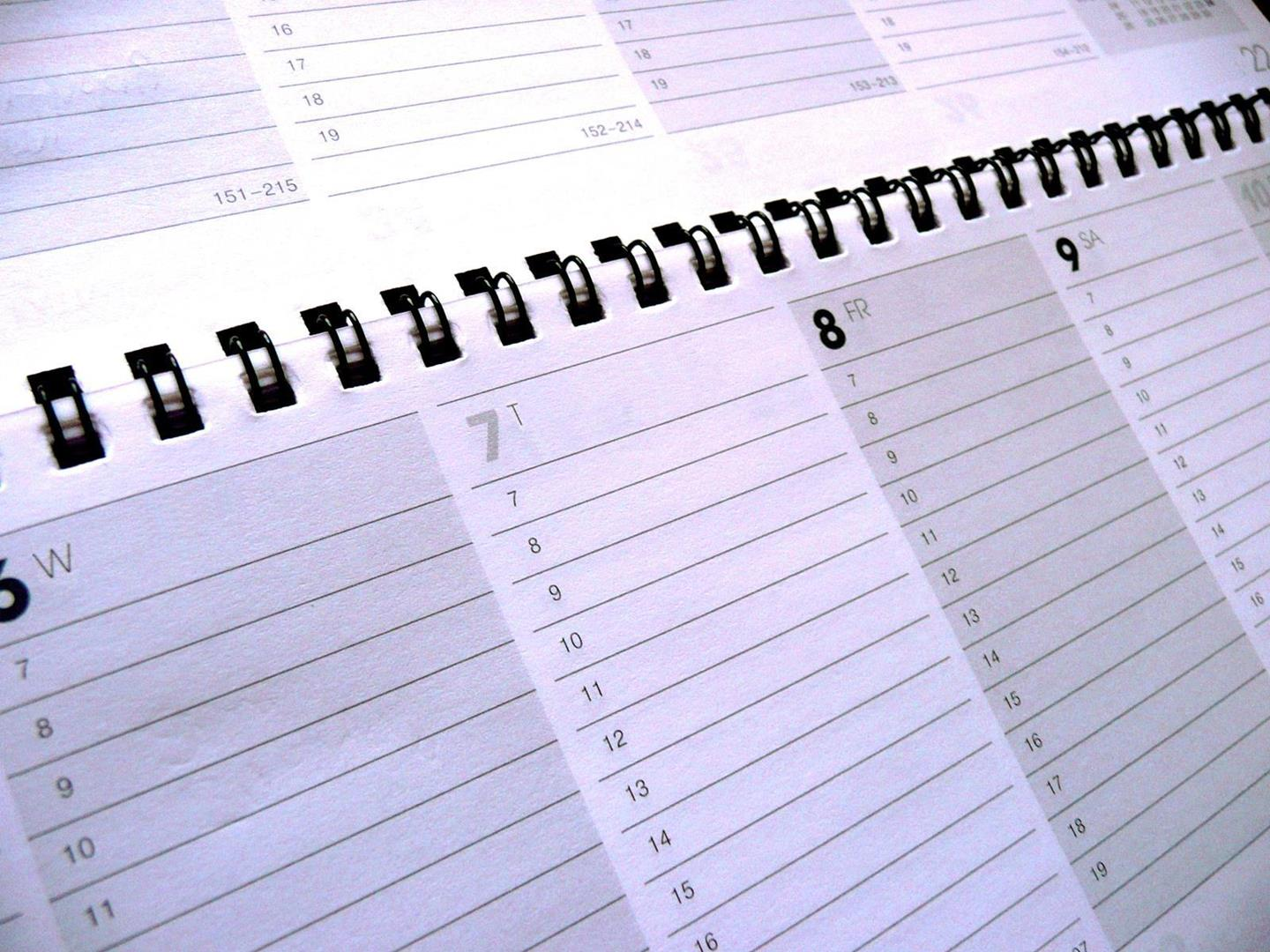 Establishing A Timetable For Your Reunion